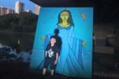 Painel de Iemanjá é furtado do 'Salve Rainha'
