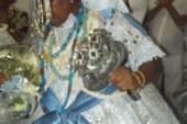 O Babalorixá Odé Kileui empossa Zenilda de Iyemanjá na sucessão do Ilê Asé Oxalá
