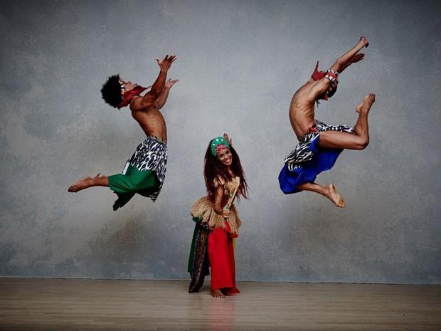 Balé Folclórico da Bahia apresenta 'Herança Sagrada' no TCA (Foto: Andrew Eccles/Divulgação)