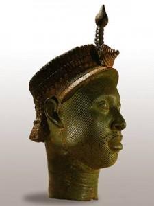 Escultura Tradicional representando os Reis de Ifé, Oni Ifé