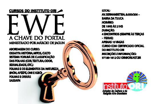 Instituto ORI oferece curso sobre folhas (Ewé)