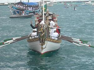 Bom Jesus dos Navegantes (Foto: Jairo Gonçalves)