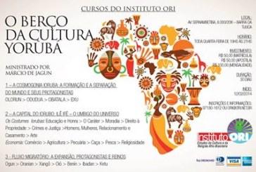 Marcio de Jagun ministra cursos no Instituto Ori