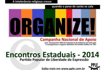 PPLE organiza encontros estaduais visando a mobilização de assinaturas para o partido