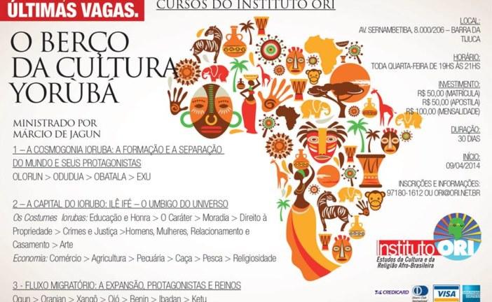 Instituto ORI promove curso sobre a cultura yorubá