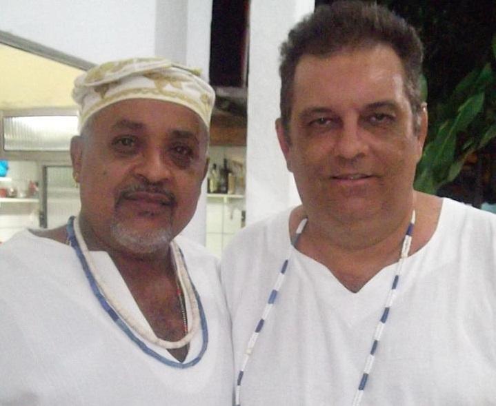 Na foto: Yango e Sérgio d´Giyan