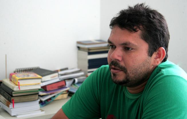 Ideilde Gomes, missionário da Congregação Batista. Créditos: Gabriel Tôrres