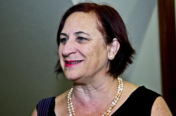 Ângela Soligo, organizadora do evento