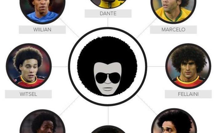 Cabeleira afro volta à moda na Copa após sucesso nas décadas de 60 e 70