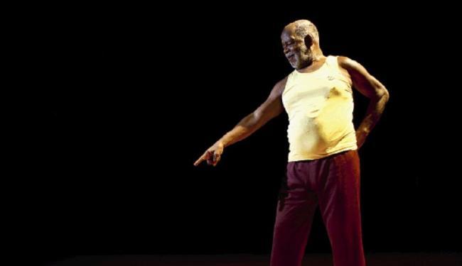 Mestre King no palco do TCA Fernando Vivas | Ag. A TARDE