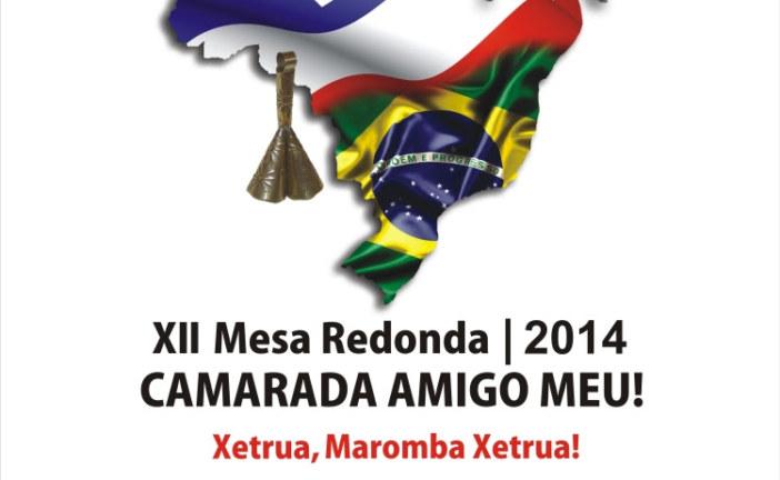 XII MESA REDONDA DOS CABOCLOS CAMARADA AMIGO MEU!