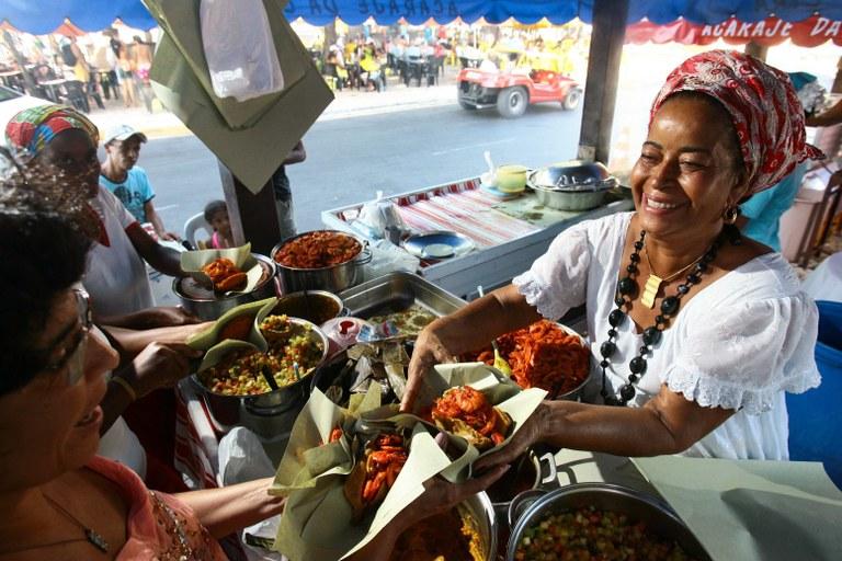 Acarajé é elemento central da cultura afro-brasileira