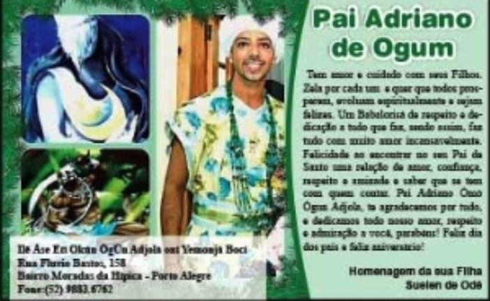 Pai Adriano de Ogum