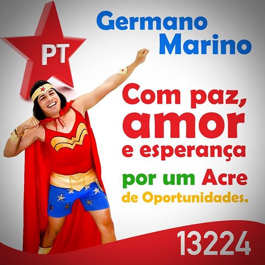 Santinho do candidato Germano Marino