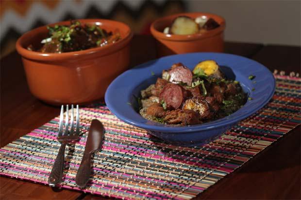 Restaurante Altar serve receitas originais de terreiros. Foto: Allan Torres/DP/D.A Press