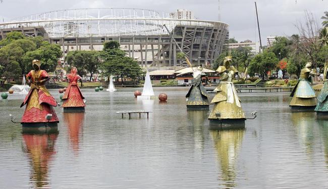 Joá Souza | Ag. A TARDE | 12.11.2012   Religioso quer símbolos de candomblé fora das ruas
