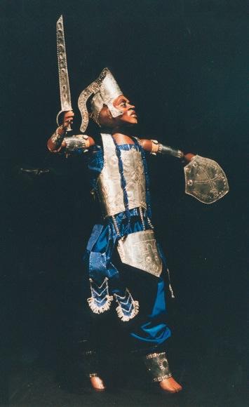 A peça apresenta a gênese do mundo, da terra e do homem. (Foto: Divulgação/Sesc)