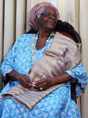 Mãe Stella ocupa a cadeira 33 da Academia de Letras da Bahia (Foto: Egi Santana/G1)