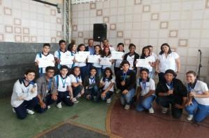 Estudantes são premiados por produção de filmes