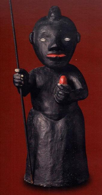 Acervo dos autores | Divulgação Escultura de Exu do Mestre Didi