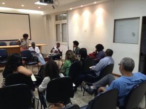 Evento aconteceu no Sindicado dos Jornalistas Profissionais do Município do Rio de Janeiro (Imagem: Reprodução/Sindicato)
