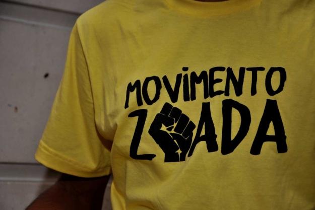 Integrantes do movimento Zoada colocaram a Iansã na Faculdade Victor Soares/LeiaJáImagens