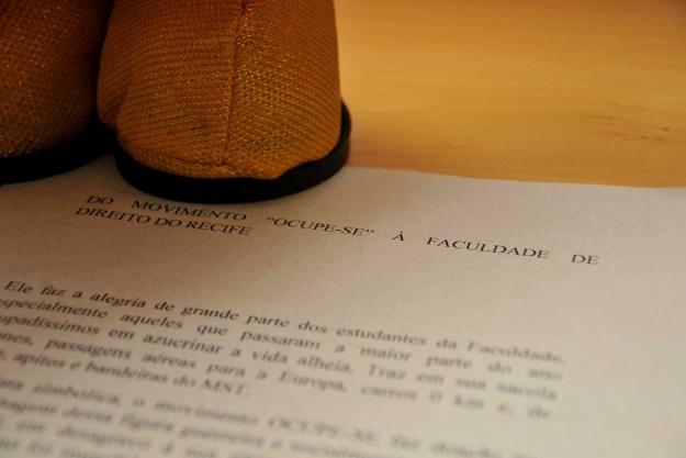 Uma carta foi colocada no Papai Noel Victor Soares/LeiaJáImagens