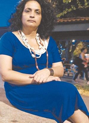 Rosiane Rodrigues foi impedida de entrar em Ricardo de Albuquerque Foto:  Estefan Radovicz / Agência O Dia