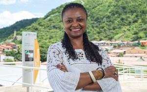 Nilma Lino Gomes é a atual reitora da Unilab.  Ela é pedagoga formada pela UFMG e não tem vínculo com partidos.