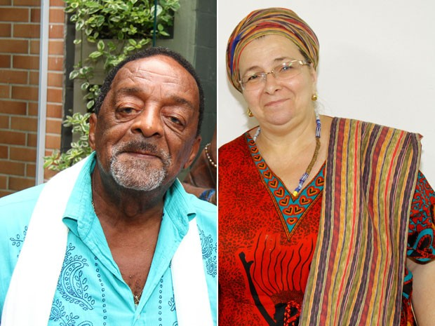 Naná e ialorixá Elza de Iemanjá serão homenageados no Orixamar (Foto: Maker Mídia e Jair Alves/ Divulgação)