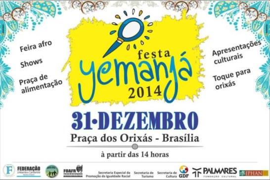 COMUNICADO À POPULAÇÃO DE BRASÍLIA ESPECIALMENTE À COMUNIDADE RELIGIOSA DE MATRIZES AFRICANA E BRASILEIRA.