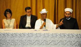 Líderes de diversas religiões que participaram do ato pedem a criação de um Plano Nacional de Combate à Intolerância ReligiosaFernando Frazão/Agência Brasil