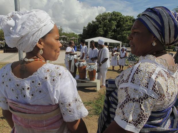A data foi instituída em 2007 em memória de Gildásia dos Santos, que morreu há 15 anos por problemas de saúde agravados pela perseguição religiosa, após seu terreiro ser invadido e violado. (Foto: Elói Corrêa/GOVBA)