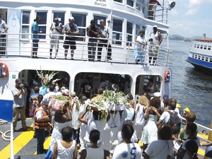 Embarcação exclusiva levará devotos de Iemanjá (Foto: Divulgação/Secretaria Estadual de Transportes)