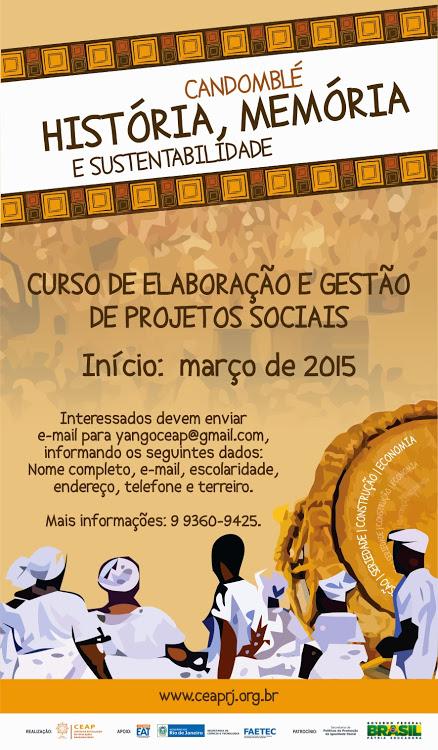CEAP promove curso para comunidades de terreiro