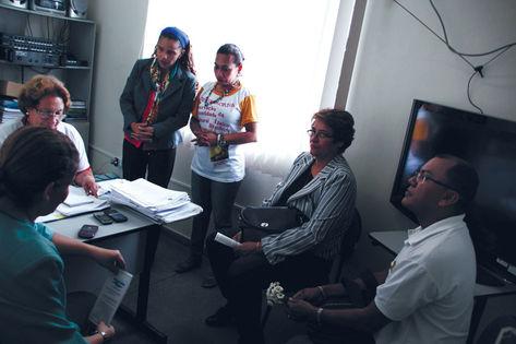 Polêmica na escola motivou ida de representantes de Fórum,OAB e MPE(Odair Leal)