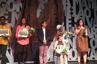 Professora Clara Suassuna foi ao Rio de Janeiro receber o Prêmio