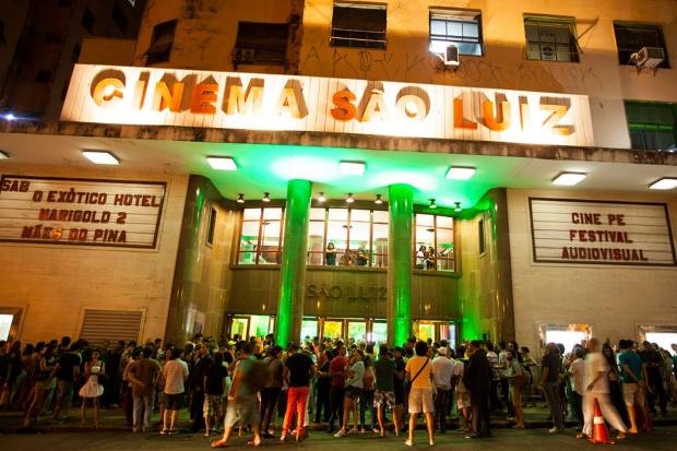 Público lotou o São Luiz. (Foto: Daniela Nader/Divulgação).