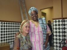 Martha Sales e Sônia Oliveira elaboraram projeto Oxê(Fotos: Portal Infonet)