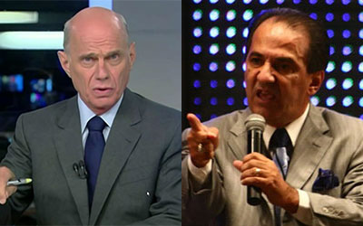 Crédito:Divulgação Emissora tenta acalmar pastor após críticas de Boechat