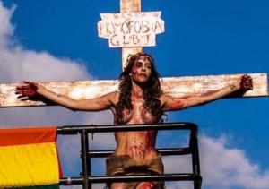 Reprodução A atriz que fez a apresentação é Viviany Beleboni, tem 26 anos, é transexual e espírita