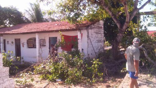 WHATSAPP O POVO Segundo Marcos, a demolição é motivada por preconceito religioso e pela especulação imobiliária