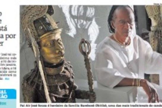 Terreiro Pilão de Prata faz festa para o líder da casa- O babalorixá Air José festeja os 70 anos de iniciação no candomblé
