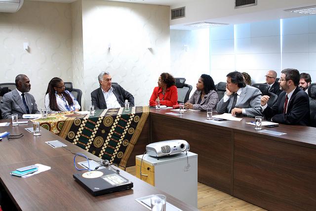 Na reunião, foi decidida a criação de um Grupo de Trabalho Interministerial para tratar da intolerância religiosa (Foto: Ascom/MinC)