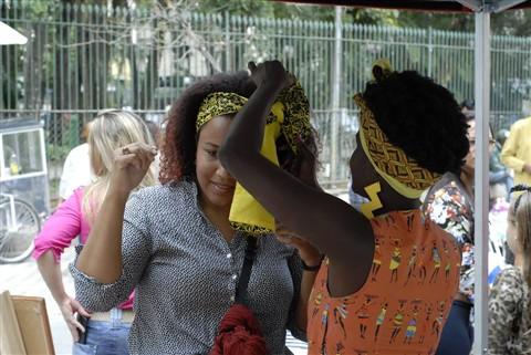 FOTO: FELIPE RODRIGUES Evento foi uma preparação para as Marchas Municipal e Nacional das Mulheres Negras
