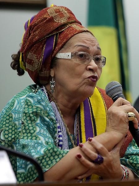 Antonio Araújo/Câmara dos Deputados Mam'etu Nangetu: por temor à intolerância, muitos adeptos de cultos afros se dizem católicos