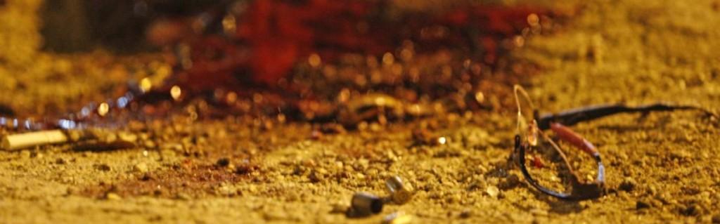 Vítima estava na Praça do Rink quando foi atingido por dois disparos, um na cabeça, outro no abdômen. Foto: Douglas Macedo