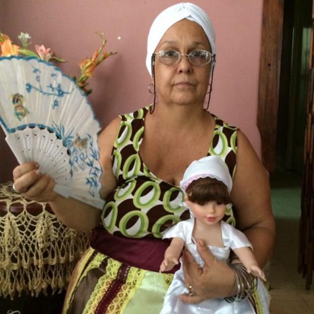 'Tínhamos que fazer todos os rituais escondidos', diz Alina Garcia sobre perseguição após a Revolução Cubana (Foto: BBC Brasil)