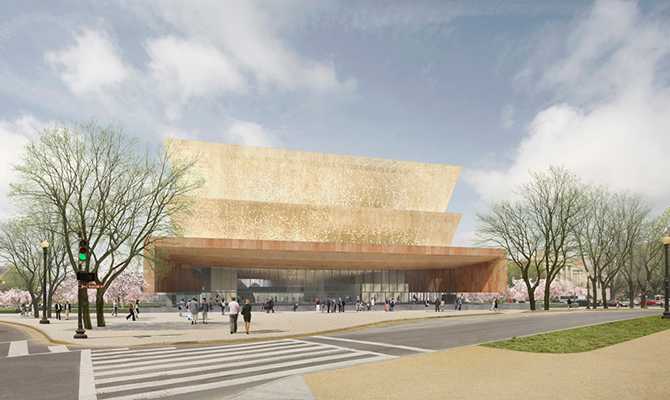 A novidade ocupará o último local designado para museus no National Mall, em Washington, DC (foto: divulgação)
