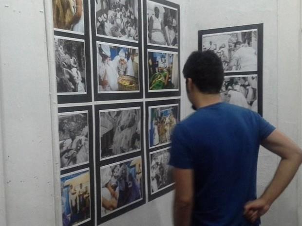 'Sobre o Sagrado e suas cores' registra a fé de matriz africana (Foto: Débora Melo/Acervo Casarão da Mariquinha)